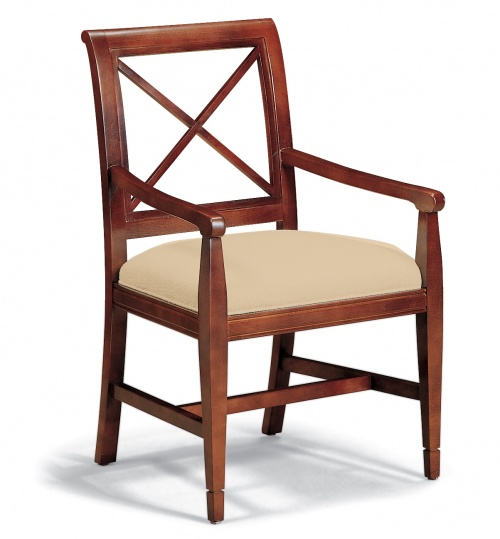 4007 Wood Arm Chair