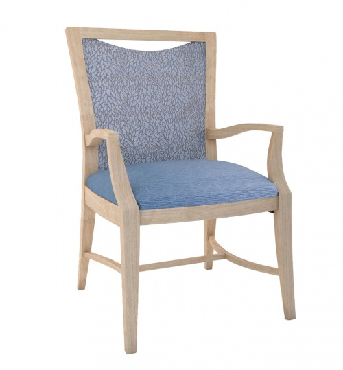 4128-1 Wood Arm Chair