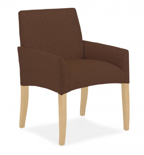 4166 Wood Arm Chair