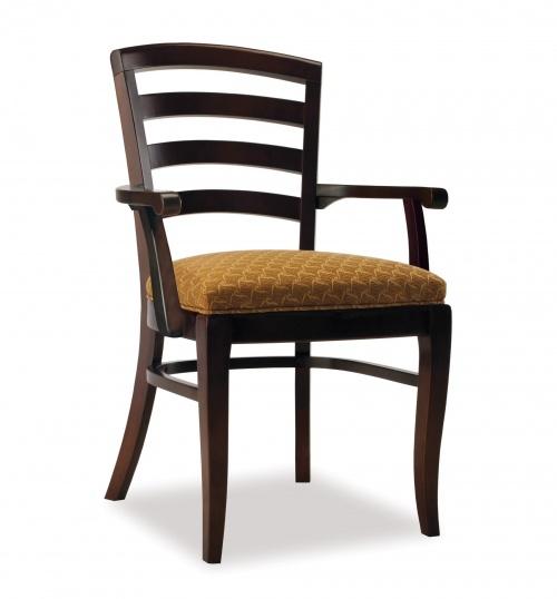 4307-1 Wood Arm Chair