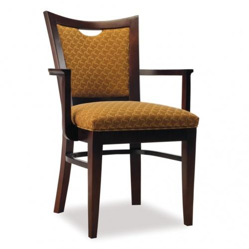 4363-1 Wood Arm Chair