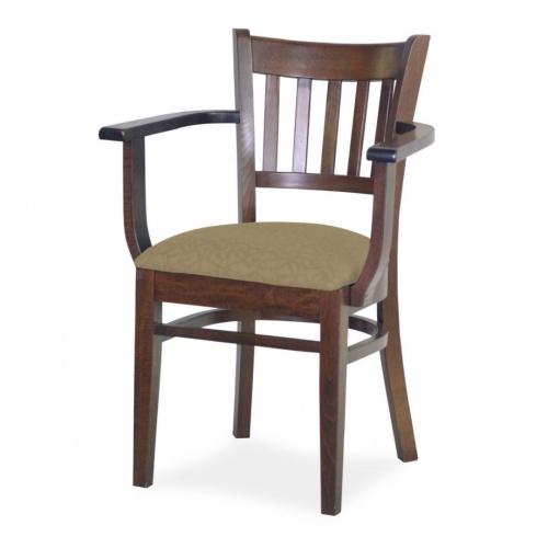 7040-1 Wood Arm Chair